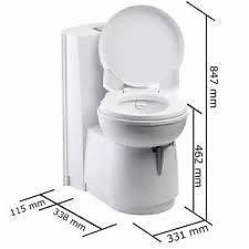 thetford cs250 toilet ceramic bowl. Black Bedroom Furniture Sets. Home Design Ideas