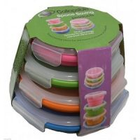 Collapsible Space Saving Round Tub Set of 4